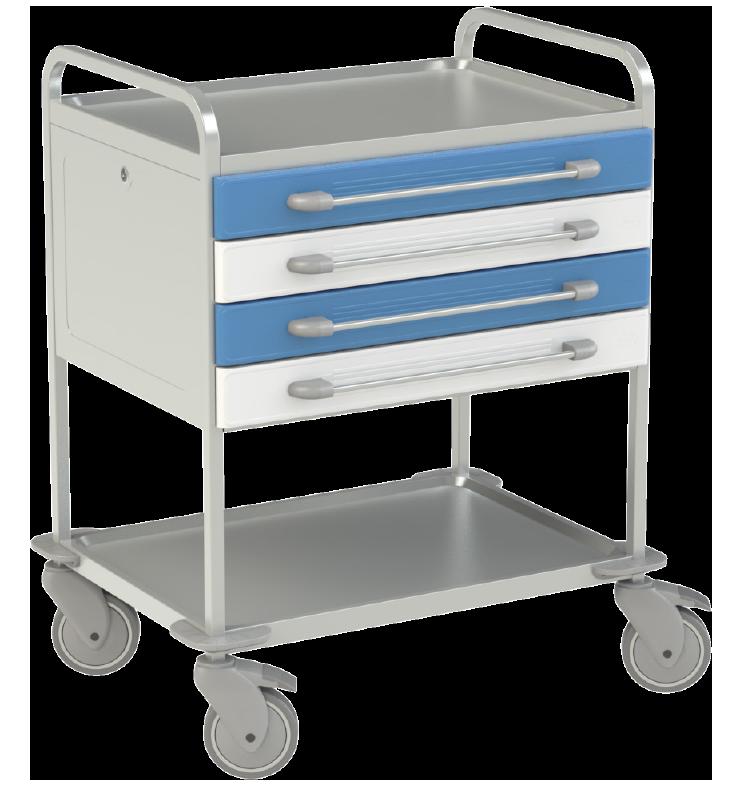 Viacúčelový vozík NEREZ2725