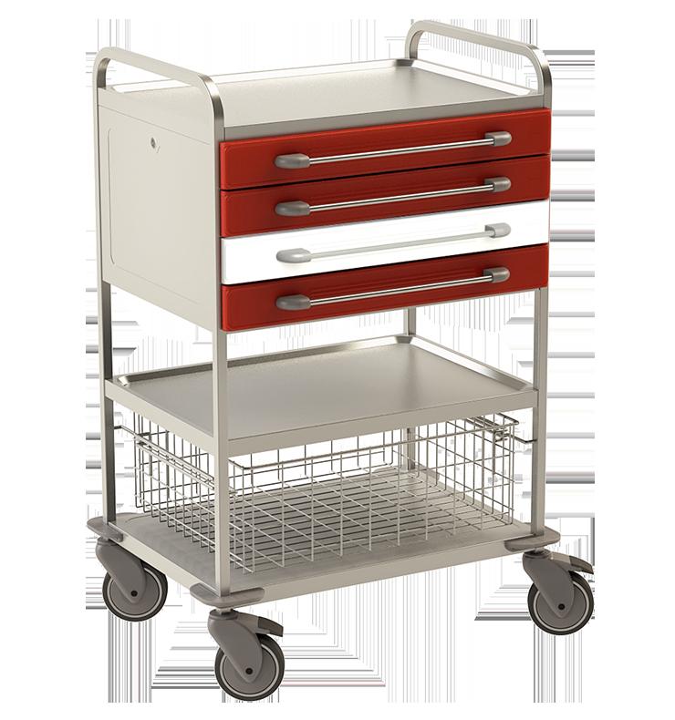 Viacúčelový vozík NEREZ2743