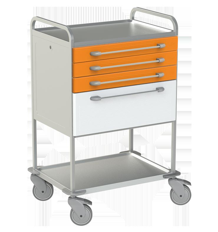 Viacúčelový vozík NEREZ2765