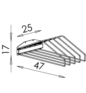 Závesná stena na RTG zástery NEREZ0004