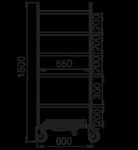 Stojan na prístroje NEREZ2032