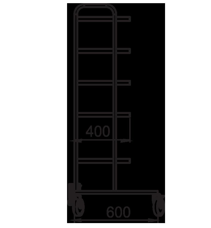 PRedná strana: Stojan na prístroje NEREZ2032