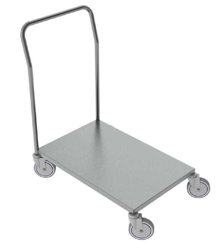 Plošinový vozík NEREZ2055