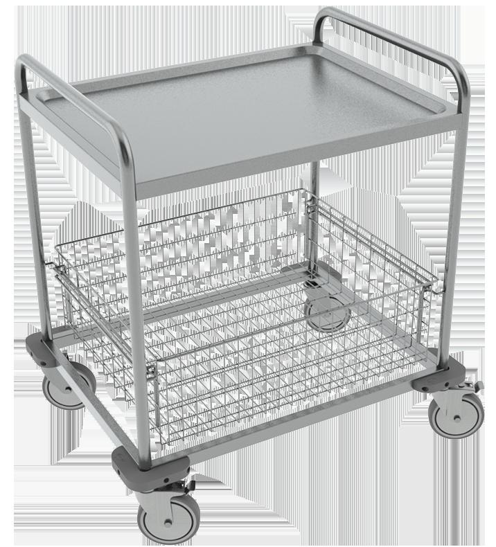 PRedná strana: Transportný vozík NEREZ2602