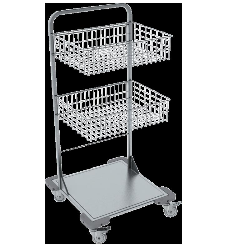 Pojazdný stojan košový NEREZ5001