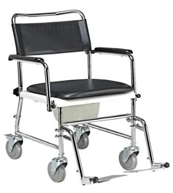 Toaletná stolička s operadlom GLY-220