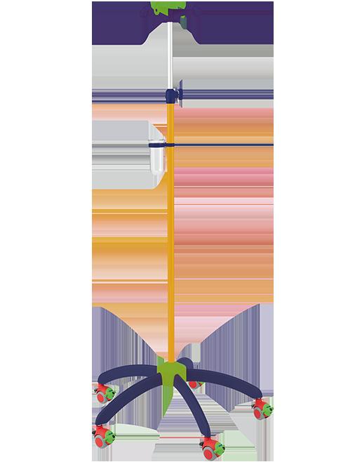 Pediatrický infúzny stojan I-HA4130