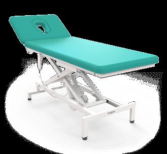 Elektrické masážne lehátko eMensa: EM-2M