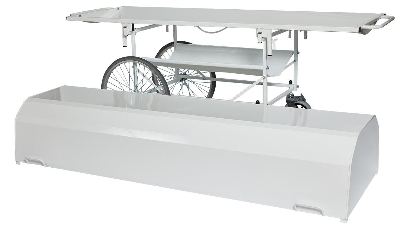 PRedná strana: Transportné lehátko VSNP 95-VK-150